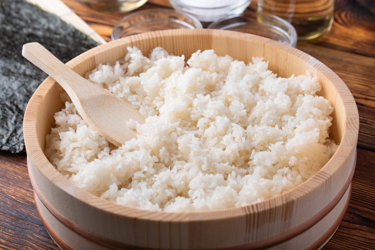ryż dla psa